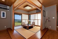 tatami room---this is how I want to do a family room when we finish the basement someday!