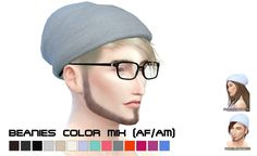 GTW slouchy beanies at Porcelain Warehouse via Sims 4 Updates
