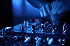 DJ Music night club Stock Photo by Techno Music, Dj Music, Dance Music, Dj Dance, Super Junior, K Pop, Best Dj Mixer, Hip Hop, Photo Images