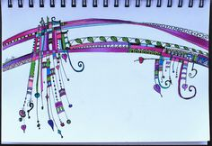 Art Journal - Zenspirations Dangles with Curve | Flickr - Photo Sharing!