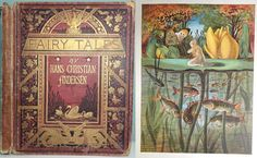 1872 FAIRY TALES Hans Christian Andersen 12 STUNNING COLOUR PLATES Antique Book