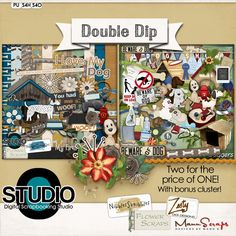 Double Dip: For Dog Lovers #thestudio