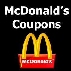 New McDonald's Coupons and Promotions at