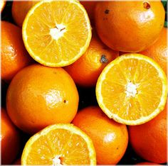 Why we love oranges you ask? Because they are packed with Vitamin C, an excellent source of antioxidants.  It's believe it will help lighten, brighten, and tighten our skin! Now that sounds like the perfect recipe for healthy, young-looking skin!!!