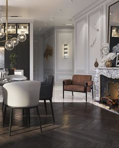 The latest luxurious trends for your home decoration - Discover the best luxury home decor inspiration selected for your next interior design project here - Decor, Luxury Home Decor, Living Room Designs, Classic Living Room, Home Decor, Neoclassical Interior, House Interior, Modern Classic Interior, Home Decor Furniture