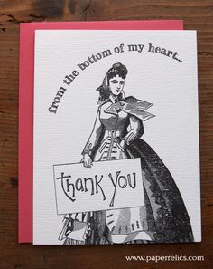 from the bottom of my heart... #letterpress #paperrelics