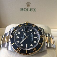 Grab a #Preowned Rolex Submariner in steel & gold #bargain Now in stock