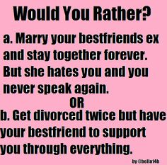 Good would you rathers for your boyfriend