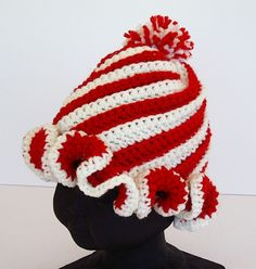 Peppermint Twist Hat Red - I must get busy :)