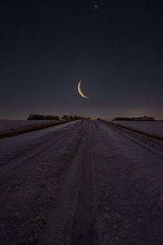 Moon path road