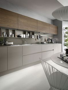 If you want a luxury kitchen, you probably have a good idea of what you need. A luxury kitchen remodel […] Modern Kitchen Cabinets, Kitchen Cabinet Design, Interior Design Kitchen, Modern Interior Design, Kitchen Modern, Kitchen Worktops, Luxury Interior, Beige Kitchen, Gray Cabinets