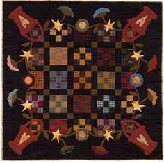 At Home with Country Quilts: 13 Patchwork Patterns (That Patchwork Place): Cheryl Wall