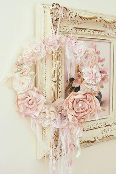 Jennelise: Ribbon Work Wreaths