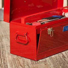 Front Loading Toolbox