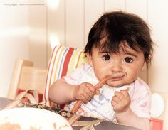 Isabella ... prima pappa | Dario Caffoni Photographer