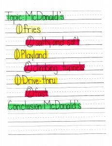 mrs. prince & co.: Stoplight Paragraphs -- topic, supporting ...