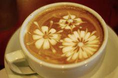 Coffee Latte art http://www.ratemyrosetta.com/how-to-make-latte-art.php   http://www.youtube.com/watch?v=i4xTz_OwlSQ   http://www.wikihow.com/Make-Latte-Art
