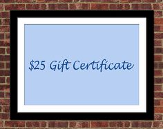 Amazing prints for Valentine's Day! A $25 gift certificate  covers the cost of a print and S&H.