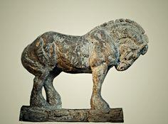 """Atlas""- by Rod Zullo FNSS, Bronze ~ 6.5 x 7.5"