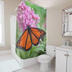 Monarch 5272 shower curtain - diy individual customized design unique ideas