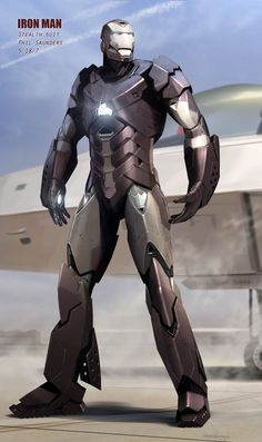 Iron Man - Stealth Suit by Phil Saunders *