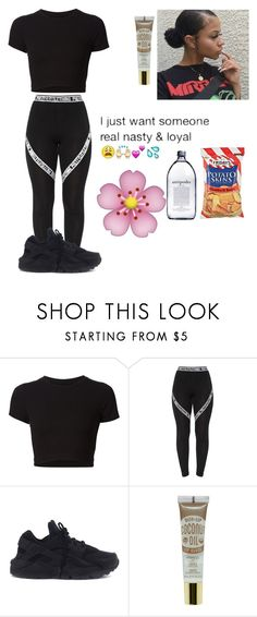 """""""well"""" by lightskin-beauty ❤ liked on Polyvore featuring Getting Back To Square One and NIKE"""