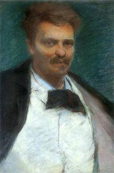 Portret Augusta Strindberga