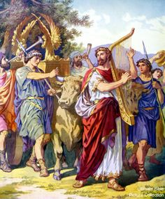 Amen! Come, Lord Jesus: David Fetches The Ark Of Jehovah From Kiriath-Jearim