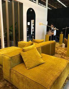 Maison & Objet our 50 favorites on the show - Elle Décoration - Kidsroom Living Room Remodel, Living Room Sofa, Living Room Decor, Living Spaces, Deco Furniture, Furniture Makeover, Banquette Design, Wicker Lounge Chair, Sofa Inspiration