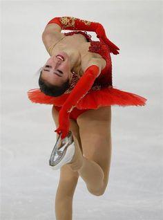 今季シニアにデビューしたアリーナ・ザギトワ。美少女選手として注目を集めているだけでなく、ロシアの平昌五輪候補にも挙げられている(ロイター)