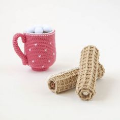 Crochet Food, Bowl Set, Crochet Patterns, Diy Crafts, Photo And Video, Mugs, Pinky Pinky, Blue, Instagram