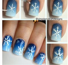 Snowflakes easier shown, than done...