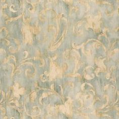 I think I have finally found it. The fabric for my new bedroom draperies. It is called Olmstead in Seaglass, and I found it at Calico Corners.