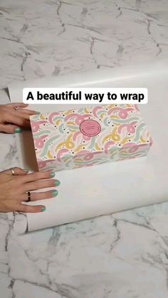 nest_in_order on Instagram: A great gift packaging inspo 💕 . 📽️ by @effectivespaces Diy Crafts Hacks, Decor Crafts, Fun Crafts, Diys, Diy Projects, Creative Gift Wrapping, Creative Gifts, Wrapping Presents, Wrapping Ideas