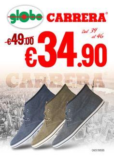 Sneakers #Carrera a solo € 34.90!!!