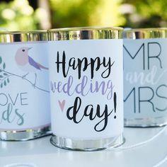 wedding cans diy autoschmuck dosen zur hochzeit von deborina auf wedding cans. Black Bedroom Furniture Sets. Home Design Ideas