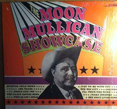 The Moon Mullican Showcase Vinyl Country Record Album