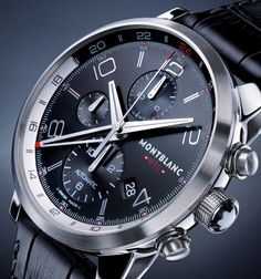 A watch that not just tells time but tells atomic time like time truly is. Sounds complicated? Montblanc says that it's actually quite simple. According to the master designers and craftsmen at Montblanc Montre SA in Le Locle, the birthplace of traditional Swiss watch-making, Universal Time Coord