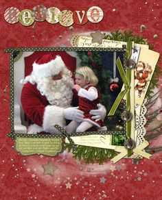 christmas scrapbook layouts | categories: Christmas , Good things , Life in general