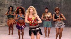 'Waka Waka' de Shakira es el mejor himno de los mundiales