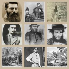 Bushrangers provides information and images about the history of Australian bushrangers from 1805 to History Activities, Teaching History, Teaching Resources, Van Diemen's Land, Famous Outlaws, Australian Bush, Australian People, Ned Kelly, History Images