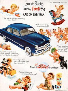 1949 Ford Car Ad