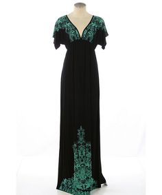 Weekend at the Vineyard Maxi Dress. Love it with a chunky funky turquoise necklace.