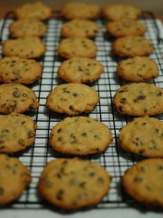 Easy Chocolate Chip Cookies - Just made these cookies. They are VERY good. Cruncy on the outside and squishy in the middle. Delicious! The tartar really adds a nice texture! Great recipe!!!