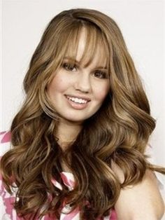 Glamorous Beautiful Long Wavy Brown Wig 100% Human Hair about 18 Inches      Original Price: $560.00 Latest Price: $223.59