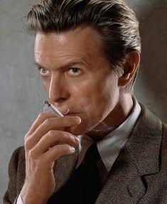 Bowie by Markus Klinko Smoking