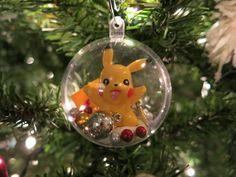 DIY Pokemon Christmas ornament