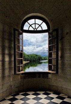 Portal window Castle View, Burgundy, France photo via mywicked Window View, Open Window, Ventana Windows, Exterior Design, Interior And Exterior, Beautiful World, Beautiful Places, Simply Beautiful, Burgundy France