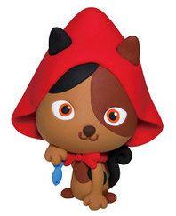 Red hood cat