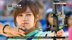 APink EunJi @ TV Show '2013 Idol Sports Athletics'